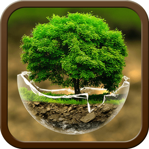 2018HD Green Nature Cartoon Theme for android free Download Latest Version APK