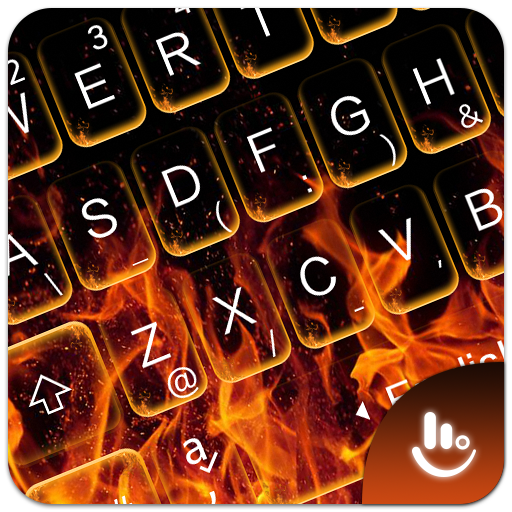 3D Flaming Fire Keyboard Theme Download Latest Version APK