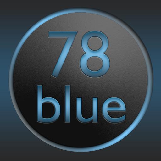 78blue icons – Nova Apex Holo Download Latest Version APK