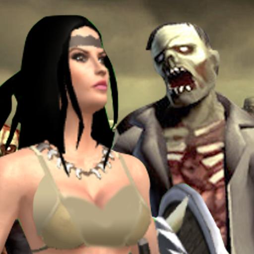 Amazon Warrior Vs  Zombie – Rpg War Game Download Latest Version APK