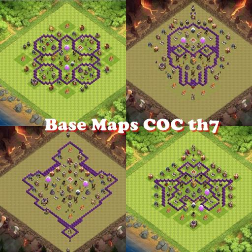 Base Maps COC th7 Download Latest Version APK
