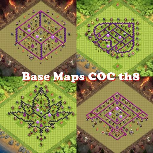 Base Maps COC th8 Download Latest Version APK