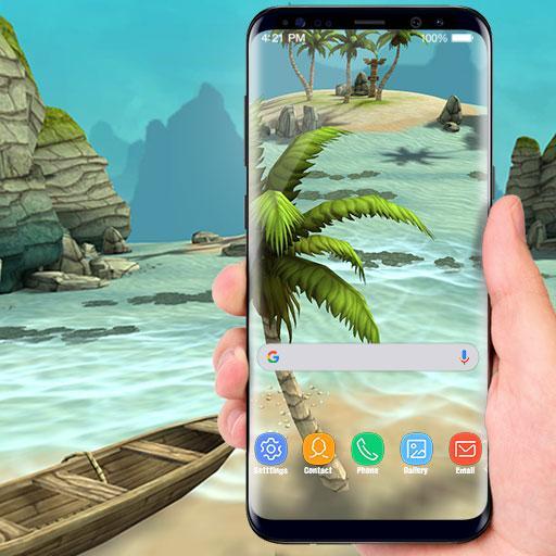 Beach Live Wallpaper HD Background: Island 3D Download Latest Version APK