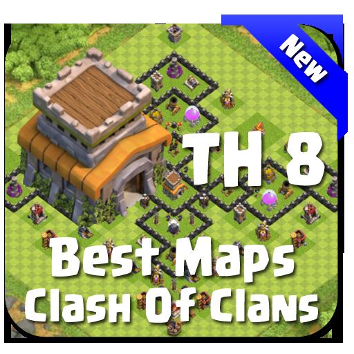 Best Base Maps COC TH8 Download Latest Version APK