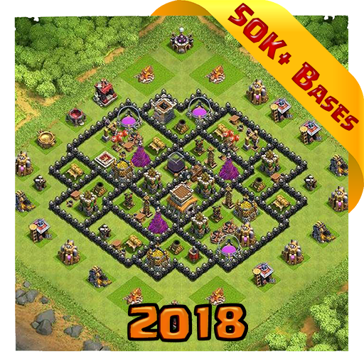 Best Base Maps for COC 2018 Download Latest Version APK