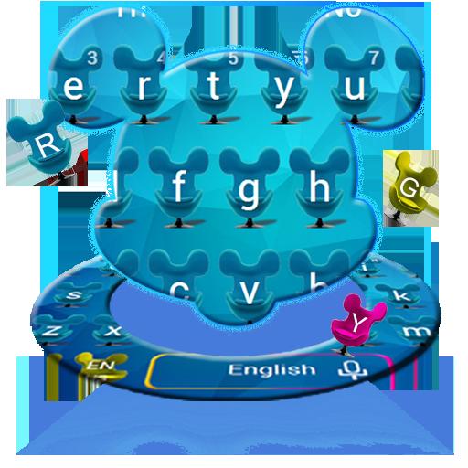 Blue Cartoon Mouse Keyboard Download Latest Version APK