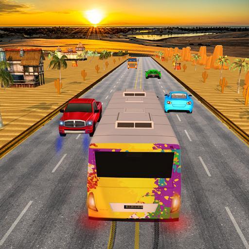 Bus traffic racer : Endless highway racing fever Download Latest Version APK