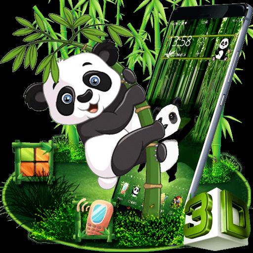 Cartoon Panda 3D Theme Download Latest Version APK