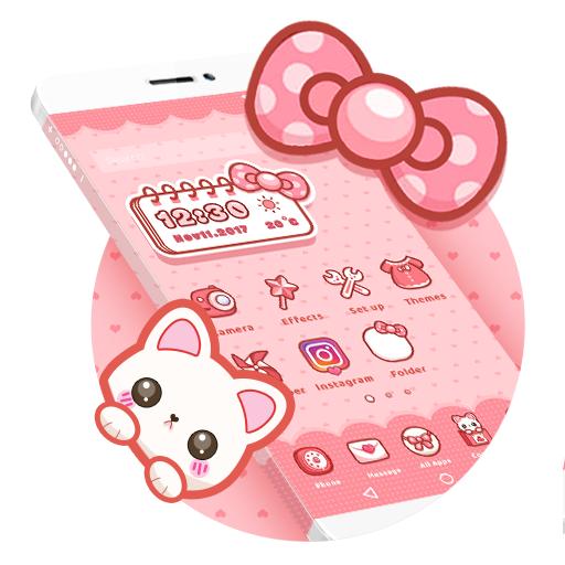 Cartoon Theme – Sweet Kitty Download Latest Version APK