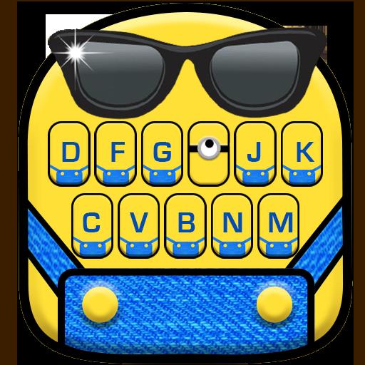 Cartoon Yellow Me Keyboard Theme Download Latest Version APK