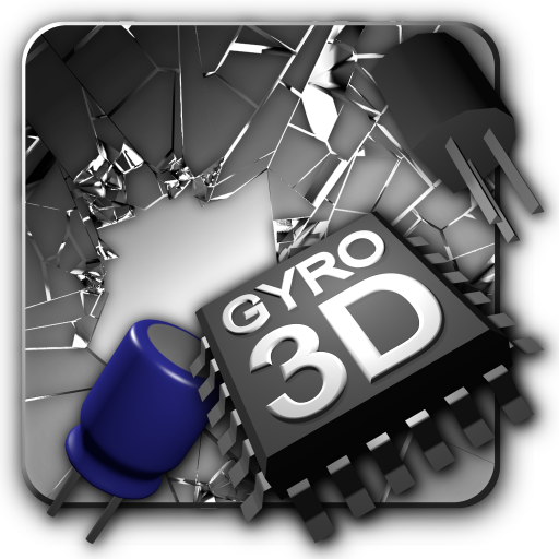 Cracked Screen Gyro 3D Parallax Wallpaper HD Download