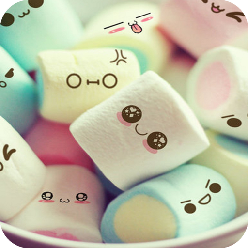 Cute Marshmallow cartoon Theme for android free Download Latest Version APK