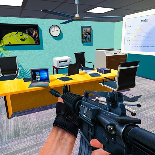 Destroy Office Stress Buster FPS Shooting Game Download Latest Version APK