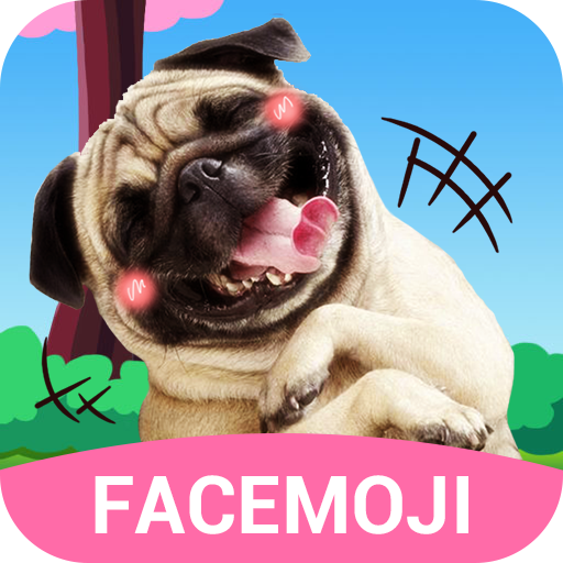 Dog Face Sticker with Lovely Style for Snapchat Download Latest Version APK
