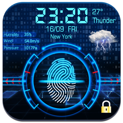 Fingerprint lock screen for prank Download Latest Version APK