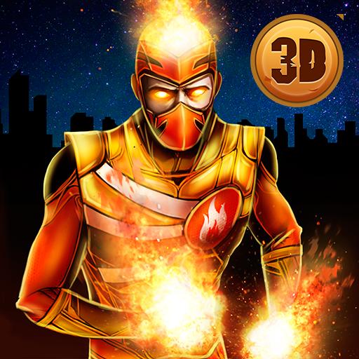 Fire Blaze Vice Town Superhero Simulator Download Latest Version APK