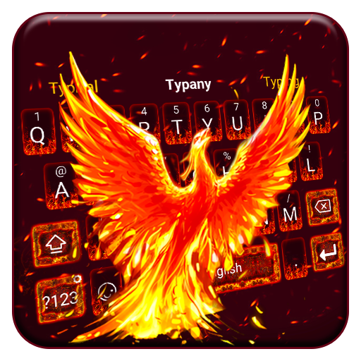 Fire Phoneix Legend Keyboard Theme Download Latest Version APK