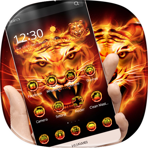 Fire Tiger Theme Download Latest Version APK