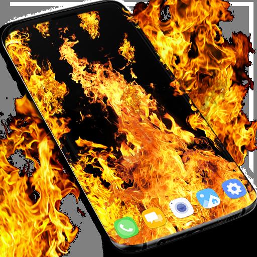 Fire flames live wallpaper Download Latest Version APK