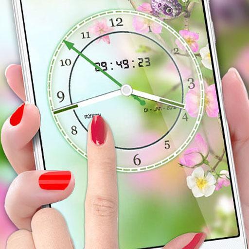 Flower Clock Live Wallpaper 2018: Luxury Watch 3D Download Latest Version APK