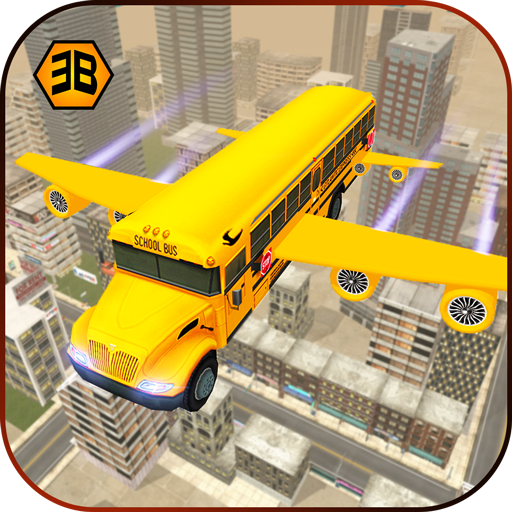 Flying School Bus Sim 2017 Download Latest Version APK