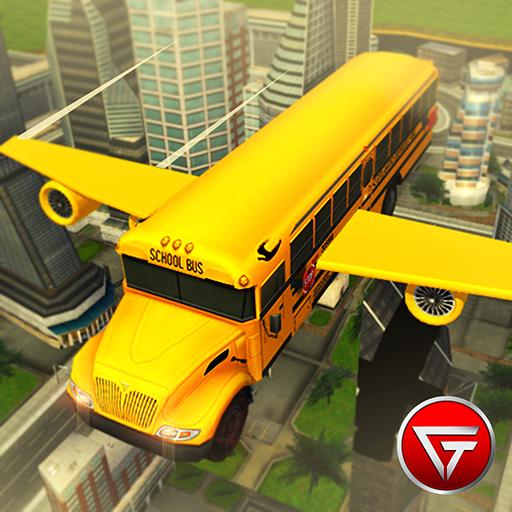 Flying School Bus Simulator 3D Extreme Tracks Download Latest Version APK