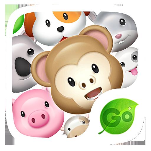 GO Keyboard Sticker 3D animals Download Latest Version APK