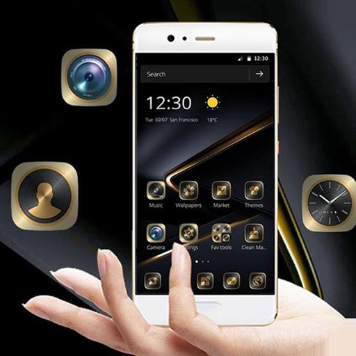 Golden Black Theme for Nova 3 Download Latest Version APK