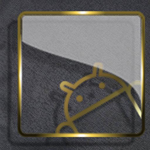 Golden Glass Nova Launcher theme Icon Pack Download Latest Version APK