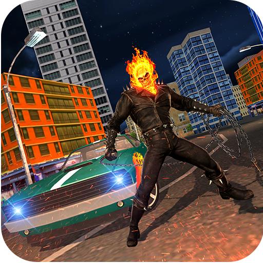 Grand Monster Ghost Skull Fire superhero Attack Download Latest Version APK