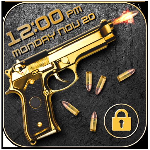 Gun shooting lock screen Download Latest Version APK