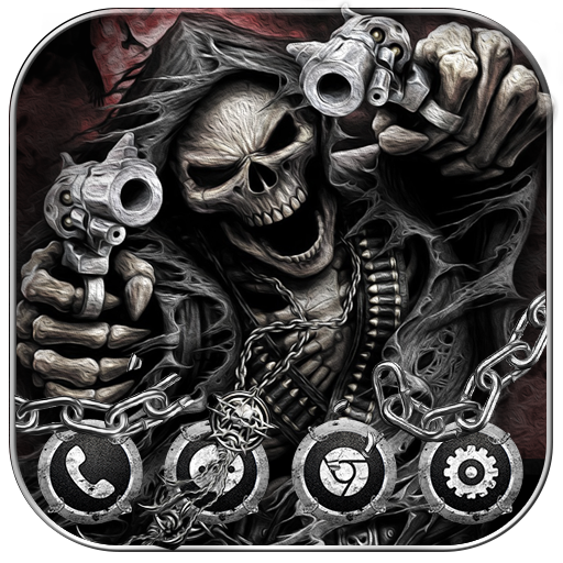 Hell Devil Death Skull Theme Download Latest Version APK