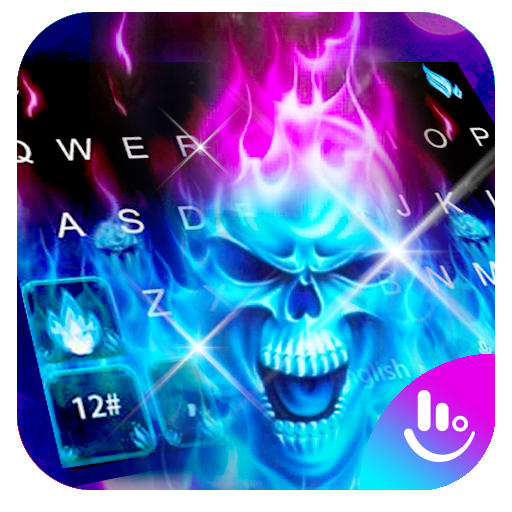 Hell Skull Fire Ice Keyboard Theme Download Latest Version APK