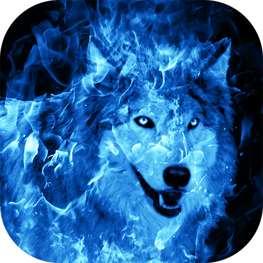 Ice Fire Wolf Wallpaper Download Latest Version APK