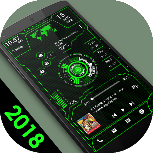 Innovative Launcher 2018 – High-tech theme Download Latest Version APK