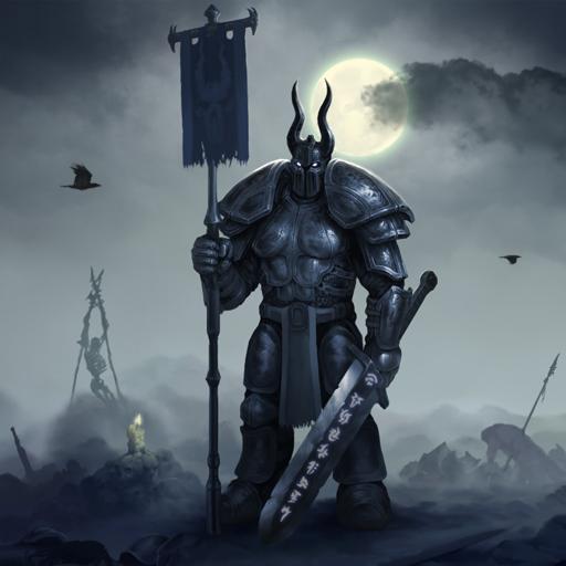 Knight Dark Fantasy Live Wallpaper Art Best HD LWP Download Latest Version APK