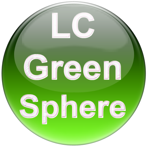 LC Green Sphere Theme for NovaApexEvie Launcher Download Latest Version APK