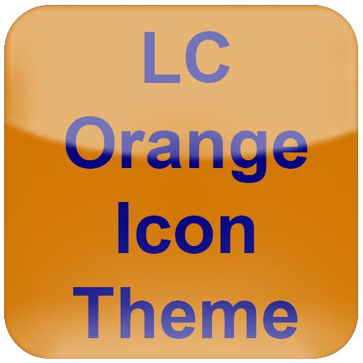 LC Orange Theme for NovaAPEXEvie Launcher Download Latest Version APK