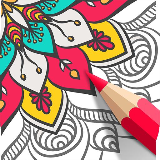 Mandala Coloring Book ? Free Adult Coloring Book Download Latest Version APK