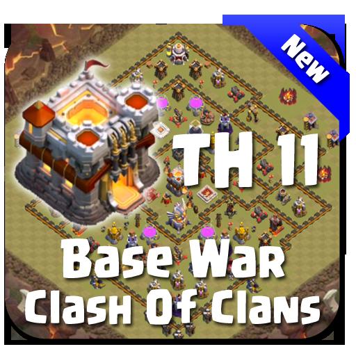 Maps COC TH 11 War Base Download Latest Version APK