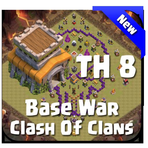 Maps COC TH 8 Clan War Base Download Latest Version APK