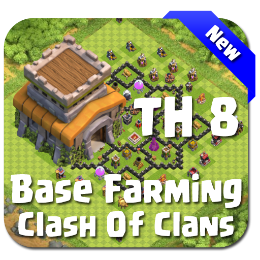 Maps COC TH 8 Farming Base Download Latest Version APK