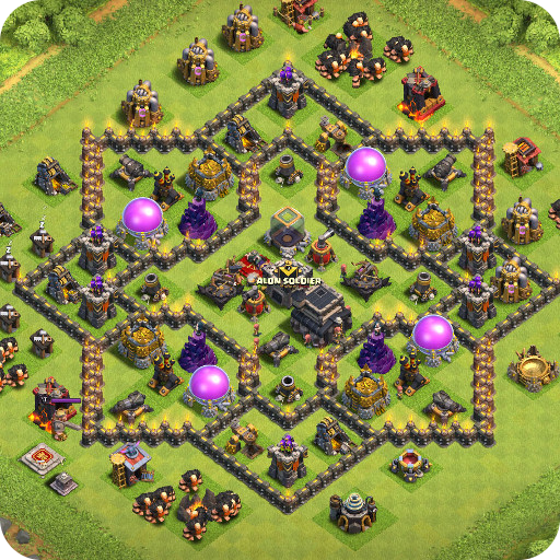 Maps of Coc TH9 Download Latest Version APK
