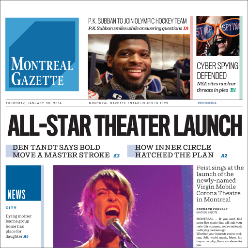 Montreal Gazette ePaper Download Latest Version APK