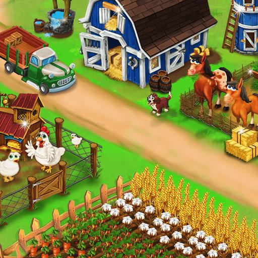 My Farm Town Village Life best Farm Offline Game Download Latest Version APK