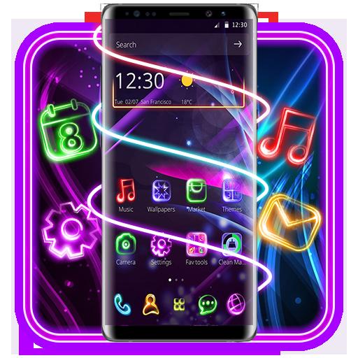 Neon Light Launcher Download Latest Version APK