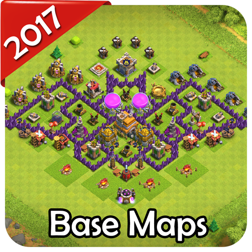 New Base Maps for COC 2017 Download Latest Version APK