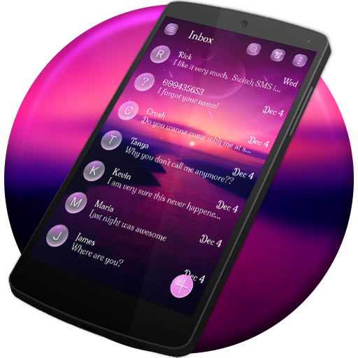 New SMS APP Theme Messenger Version 2018 Android Download Latest Version APK