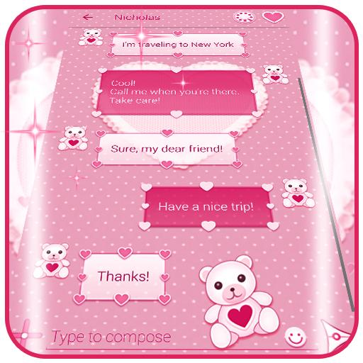 Pink SMS Themes Download Latest Version APK