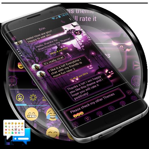 SMS Messenger Halloween Theme Download Latest Version APK